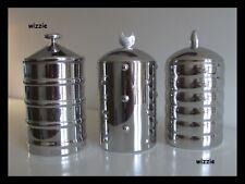 ALESSI : 3x Kalisto storage jar / CB01, CB02, CB03