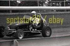 Dirt Track Midget Car #8 - c1967 Sacramento CA - Vintage 35mm Race Negative