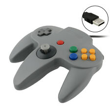 New USB Wired Controller Joypad Joystick Gamepad For Nintendo Gamecube N64 Grey