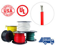 4 AWG Marine Wire Tinned Copper Battery Boat Cable 50 ft. Red Made in USA