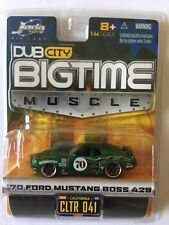 Jada Toys Dub City BigTime Muscle '70 1970 Ford Mustang Boss 429 Green 1/64