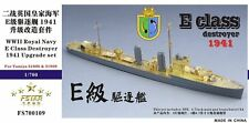 Five Star Model 1/700 #700109 WWII HMS E Class Destroyer Upgrade Set for Tamiya