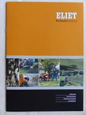 0250) ELIET Häcksler Vertikutierer Schneider Laubbläser - Prospekt Brochure 2007
