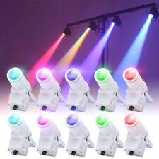 10PCS 30W RGBW LED Stage Lighting DMX Pinspot Beam Spotlight DJ Party Bar Light