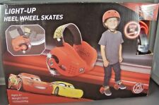 Disney Pixar Cars Light-Up Heel Wheel Red Skates Youth Red brand new
