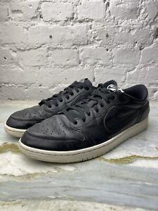 Nike Air   Jordan AJ1 Low   Black, White   UK 12, USA 13, EUR 47.5