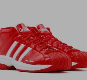 Adidas Men's Pro Model 2G Scarlet Red EF9819 Basketball Shoes Size 8