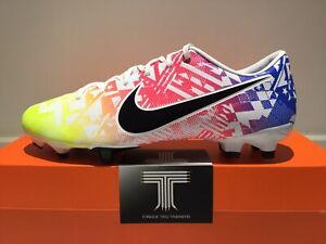Nike Vapor 13 Academy Neymar Jr FG/MG ~ AT7960 104 ~ Uk Size 7.5 ~ Euro 42
