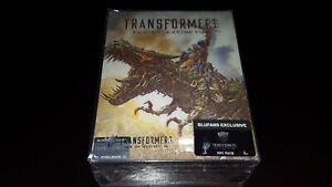 Blufans Transformers  Age of Extinction Boxset Steelbooks