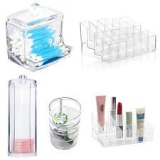 Support rangement bijoux cosmétique acrylique clair maquillage organisateur X5