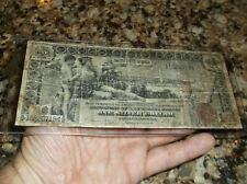 Educational $1 Large Size Horse Blanket Note Currency Usa 1896 Us Money One