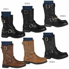 100% Leather Casual Synthetic Boots for Women