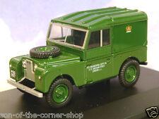 1 43 o modelo a escala 1958 Land Rover serie 1 88 Oxford Diecast verde lona
