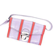 Diesel Handbag Red Purple Woman Authentic Used C862