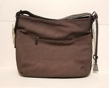 Brown Wilson Faux Leather Shoulder Hobo Bag New with Tags