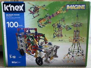 K-nex 100 Model Imagine Building Set
