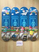 sanrio world X girl skateboard hello kitty 4 deck complete Set supreme Qual.