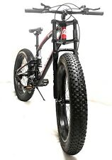 PedalEase Big Beast Fat Bike MTB Snow Beach full suspension disc brake 21 speed