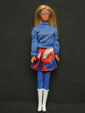 Vintage 1966 Barbie Doll Made in Japan Attached Glasses Tall White Boots