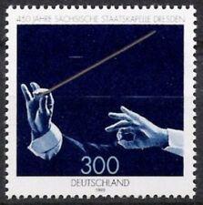 BUND Nr.2025 ** 450 Jahre Sächsische Staatskapelle 1998, postfrisch