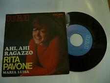 """RITA PAVONE""""AHI AHI RAGAZZO disco 45 giri RCA italy 1970"""""""