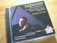Rachmaninoff - Klavierkonzert 1  [CD Album] Pletnev Libor Pesek
