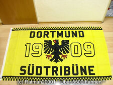 Fahnen Flagge Dortmund Südtribüne 1909 Fan - 90 x 150 cm