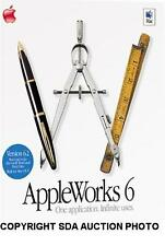 APPLEWORKS 6 FOR MAC VERSION 6.2.4 APPLE WORKS NEW SEALED SOFTWARE