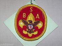VINTAGE BSA BOY SCOUT PATCH OFFICIAL UNIVERSAL  EMBLEM