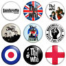 """9 x Mod 25mm 1"""" Pin Badges The Who Jam Scooter Retro Combo Set"""
