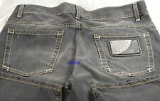 $750 Love Moschino Men Jeans 32 ZigZag Stitch Business Casual Stylish Gift NEW