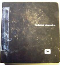 John Deere 60 - 90 - 125 Skid Steer Dealer Service Manual