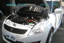 12-14 Suzuki Swift Sport ZC32S Black Strut Gas Lift Bonnet Hood Damper Kit