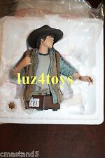 Gentle Giant Walking Dead Carl Grimes Bust Exclusive Edition W/ Sheriff's Badge
