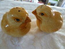 Fitz & Floyd Baby Chicks Salt & Pepper Shakers