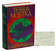 Terra Nostra by CARLOS FUENTES ~ SIGNED First American Edition 1976 ~ 1st