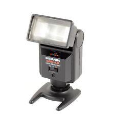 Miranda 500-CD Auto Aperture Flash Gun For Film Cameras Multi Dedicated - Tested