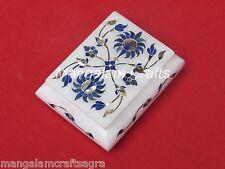 Marble Jewelry Box  Art Work Pietra Dura Stone Handmade Home Decor Gifts