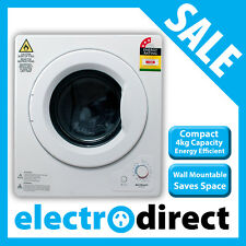 Brilcon 4kg Vented Dryer Benchtop Table Top Compact Size Wall Mount Included NEW