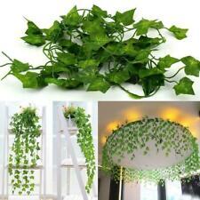 Artificial Ivy Leaf Fake Ivy Vine Garlands Decor Hanging for Wedding Party 12pcs