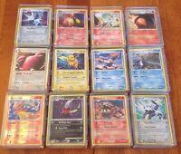 Pokemon TCG 50 Card Lot w/15 Rares- Plus 1 Bonus EX, ex, Prime, Lv X or Full Art