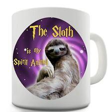 Sloth Is My Spirit Animal Ceramic Novelty Gift Mug