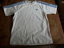 Men's Adidas T-shirt white Clima 365 medium M cotton sport exercise running