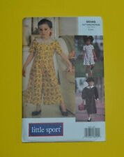Sewing pattern Vogue 8646 girl's jumpsuit, child size 2-4