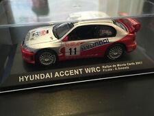 HUYNDAI ACCENT WRC LOIX RALLYE MONTE CARLO 2003 IXO ALTAYA RALLY 1/43 WRC