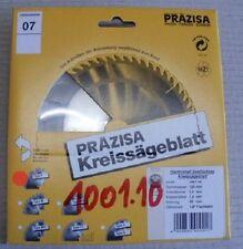 HM-Sägeblatt Handkreissäge, Marke Präzisa D-125 mm, B-20 mm, Z-12 FZ