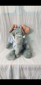 Vintage Plush Ganz Bros. Wrinkles 1985 Trunkit Elephant Hand Puppet