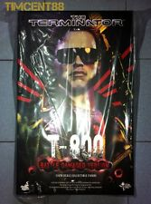 Ready! Hot Toys Terminator 1 T-800 T800 Battle Damaged T1 Arnold 1/6 Figure