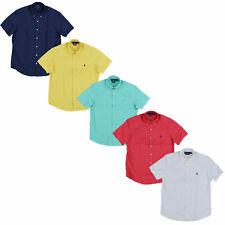 Polo Ralph Lauren мужской воротник классический покрой саржевая рубашка пони с логотипом повседневные новые