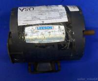 LEESON C6T17NB4E, AC MOTOR, FR C56, 1/2 HP, PH 3, 1725 RPM *PZB*